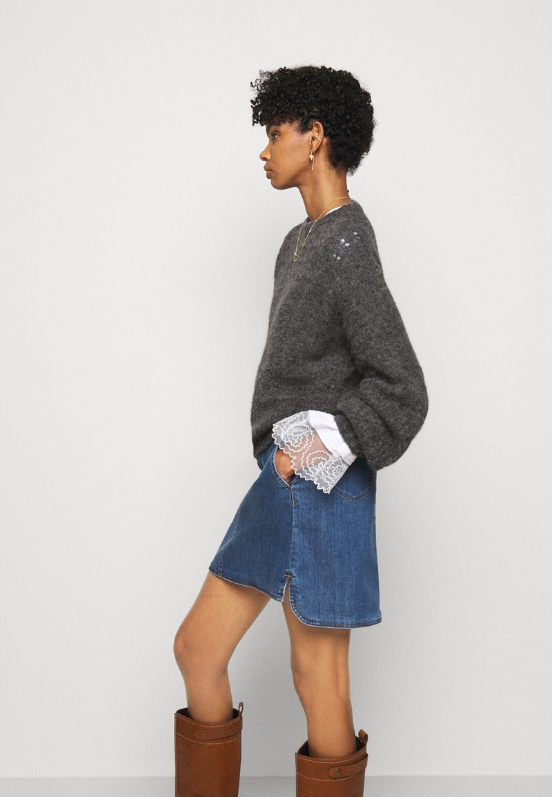See by Chloé - Jumper - charcoal black