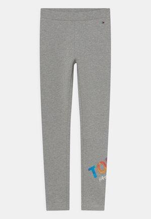 MULTI SHINE PRINT - Teplákové kalhoty - light grey heather