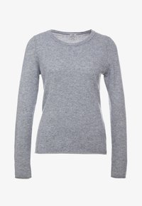 FTC Cashmere - CREW NECK - Sweter - opal grey - 3