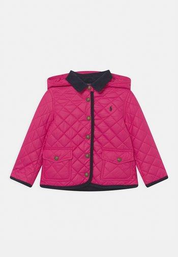BARN OUTERWEAR - Kurtka zimowa - sport pink