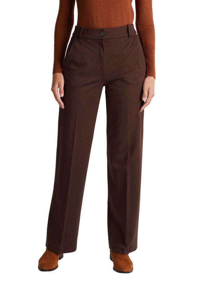 Pantalon classique - dark brown