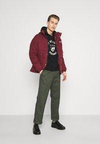 Schott - NEBRASKA - Winter jacket - bordeaux - 1