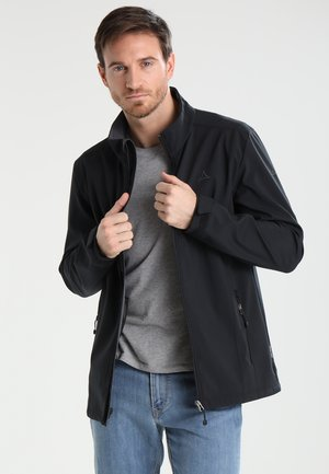 LECCO - Soft shell jacket - black