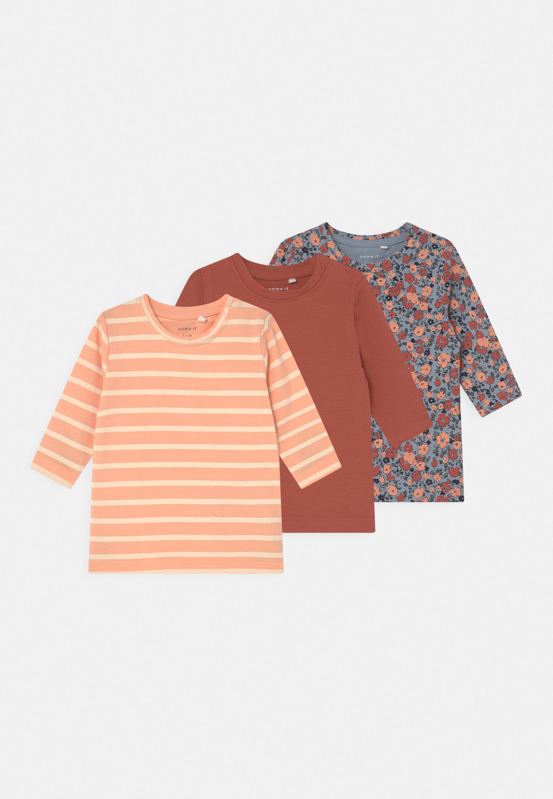 Kids NBFMOLLY 3 PACK - Long sleeved top