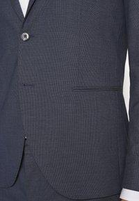 Selected Homme - SLHSLIM MAZELOGAN - Suit - medium blue melange - 8