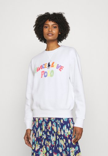 SEASONAL LONG SLEEVE - Sweatshirt - white