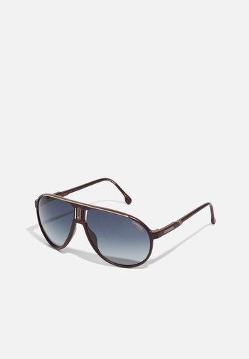 UNISEX - Sunglasses - burgundy