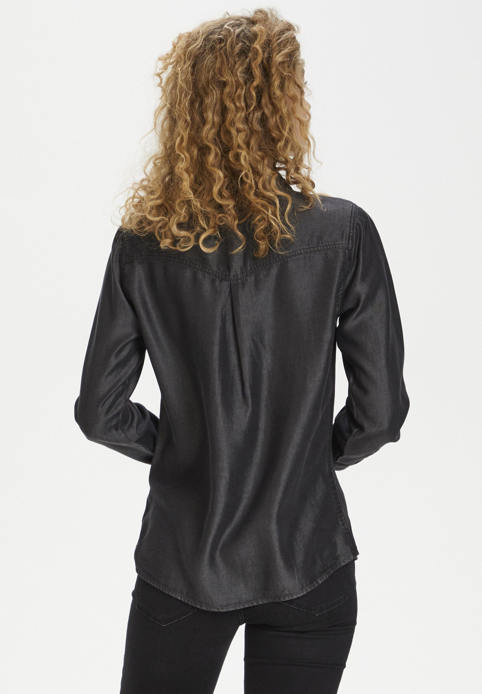 Denim Hunter Camisa - grey wash CrxKb
