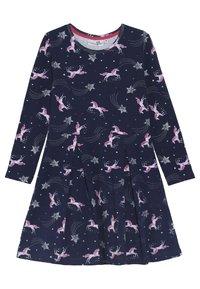 happy girls - PFERDE - Jersey dress - navy - 0