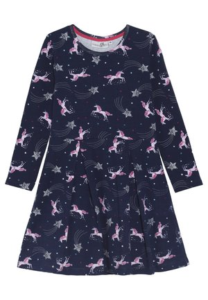PFERDE - Jersey dress - navy