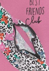 Lemon Beret - SMALL GIRLS - Print T-shirt - fushia pink - 3