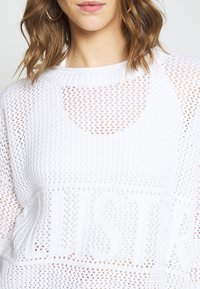 Hollister Co. - FASHION GRAPHIC - Jumper - white - 5