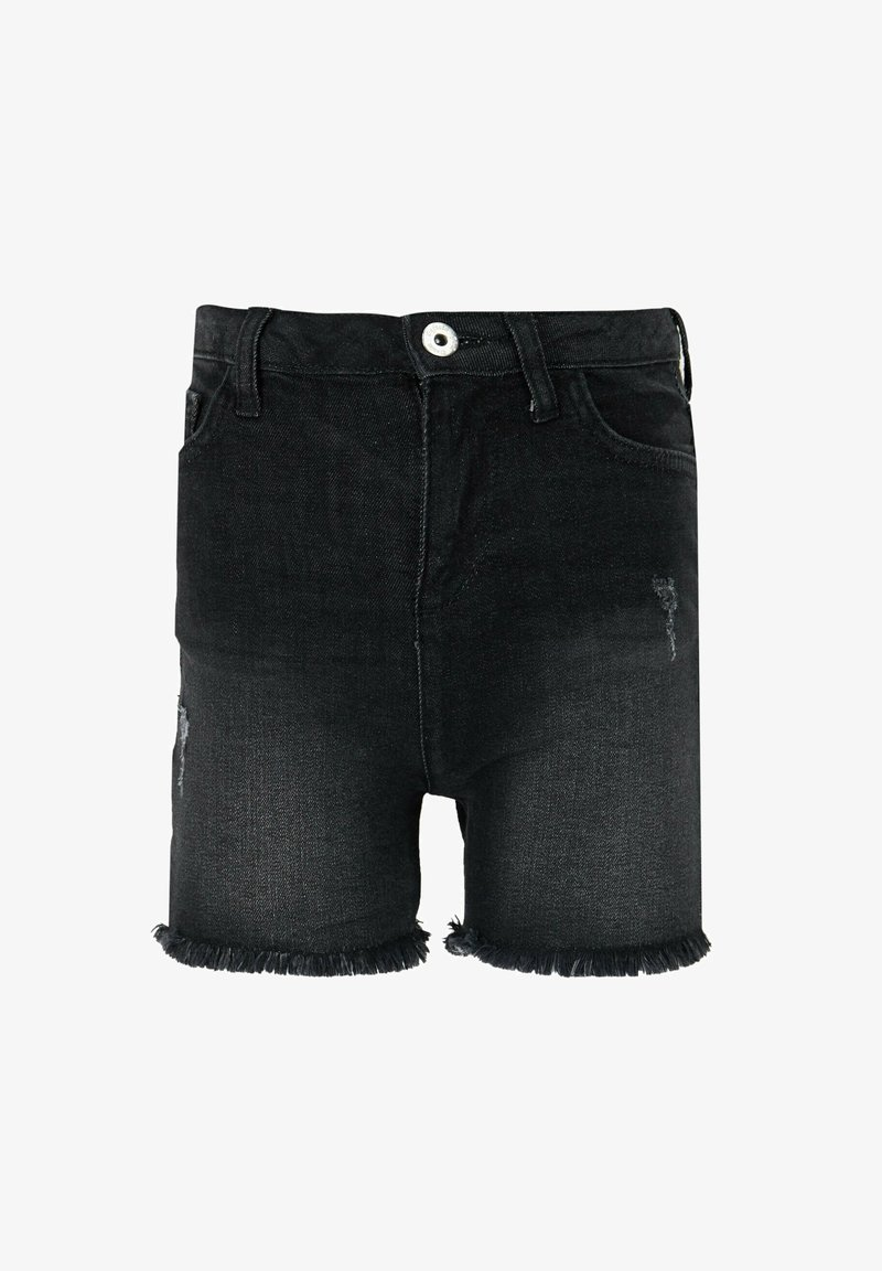 DeFacto - Denim shorts - anthracite