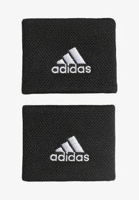 adidas Performance - BASICS TENNIS WRISTBAND - Sweatband - black - 0