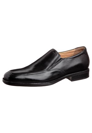 UOMO FEDERICO - Loaferit/pistokkaat - black