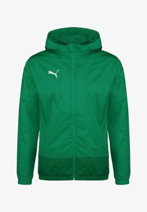 TEAMGOAL 23 REGENJACKE HERREN - Waterproof jacket - pepper green/power green
