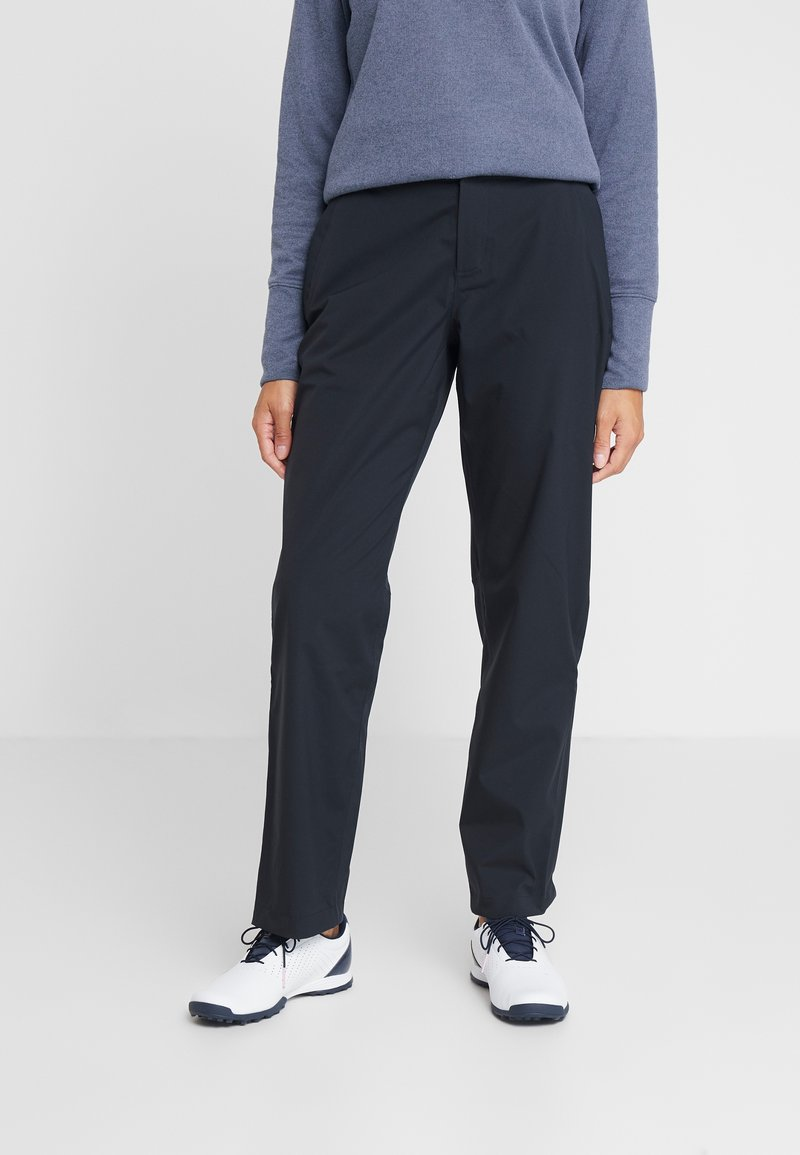 Under Armour - ELEMENTS RAIN PANT - Kalhoty - black