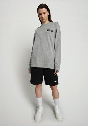 PATCH - Long sleeved top - medium grey melange