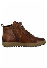 Jana - SNEAKER - Sneakers high - dk cognac napp - 2