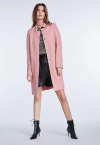 SET - Classic coat - rose - 1