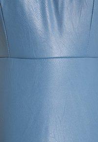 WAL G. - FLARE SKATER DRESS - Denní šaty - steel blue - 2