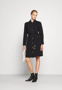 Barbour International - MINATO DRESS - Denim dress - black - 1