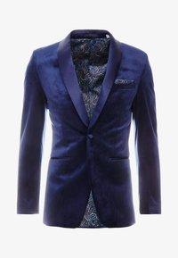 Burton Menswear London - TOP SHAWL LAPEL - Chaqueta de traje - navy - 5