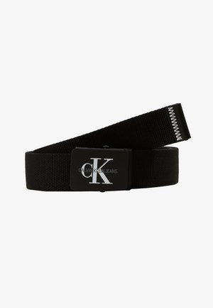 MONOGRAM BELT - Skärp - black