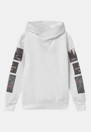 MAFFA LONGSLEEVE HOODIE - Sweater - bright white