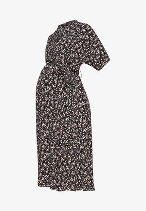 BOW DRESS - Vestido informal - black