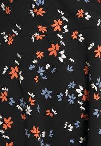 Dorothy Perkins Curve - CURVE WRAP SLEEVE COBALT SPOT DRESS - Jerseykjole - multi - 2