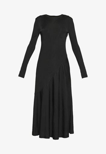 KAREN DRESS - Žerzejové šaty - black