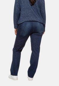 Ulla Popken - Straight leg jeans - blue denim - 1