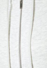 Gina Tricot - FELICIA ZIP JACKET - Sweater met rits - grey melange - 2