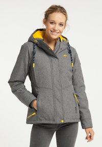 Schmuddelwedda - Winter jacket - dunkelgrau melange - 0