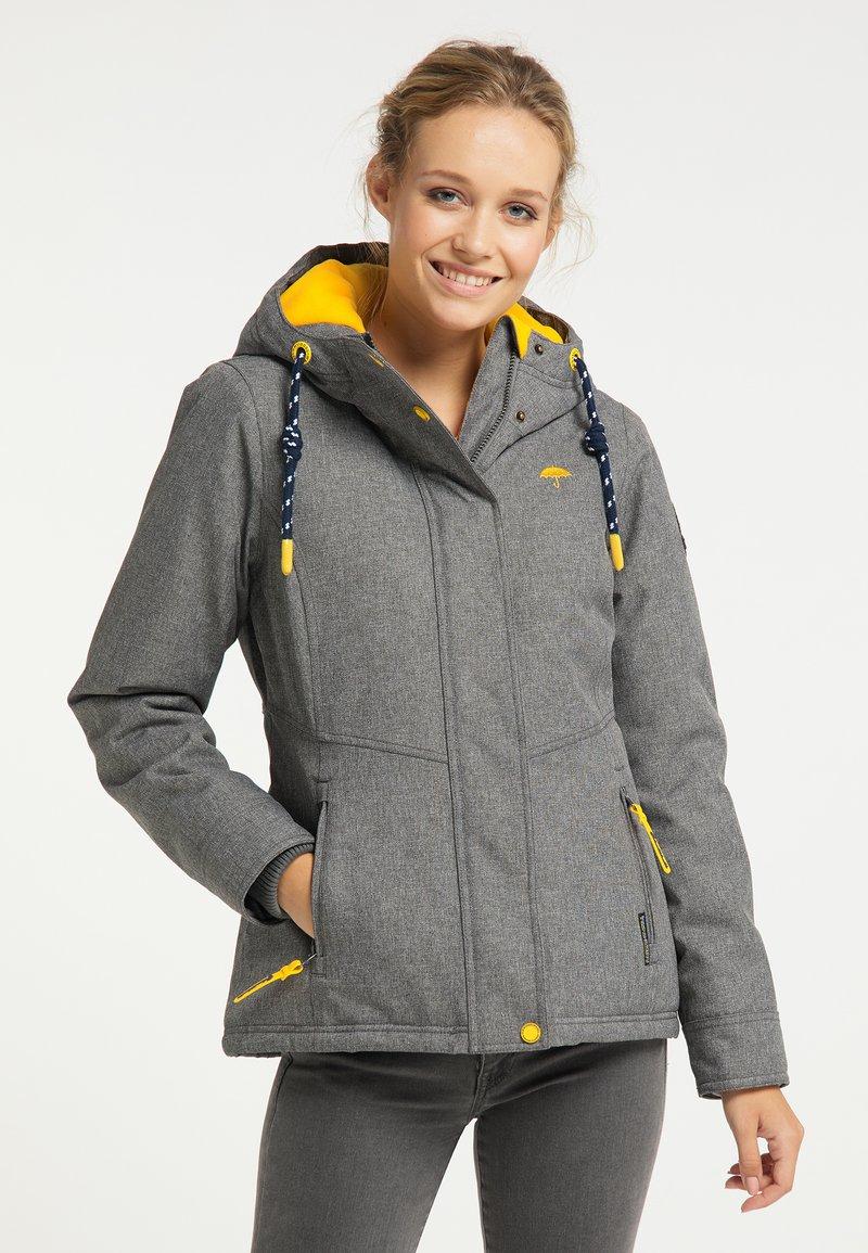 Schmuddelwedda - Winter jacket - dunkelgrau melange