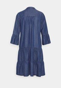 More & More - DRESS SHORT - Denim dress - mid blue denim - 1