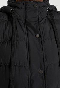 Opus - WAFA CASUAL - Waistcoat - black - 4