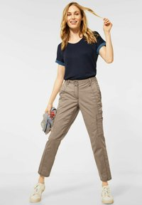 Cecil - Trousers - beige - 1