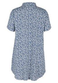 Zizzi - Button-down blouse - petit flower - 4