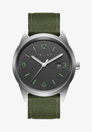 LUWO - Watch - grey olive