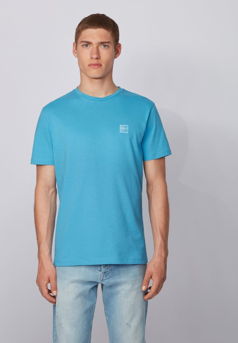 BOSS - TALES - Basic T-shirt - turquoise