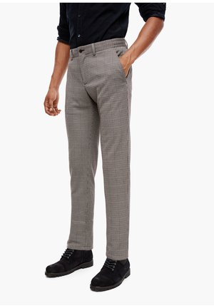 Suit trousers - brown glencheck