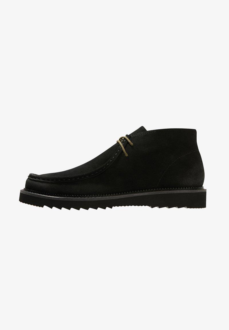 NOIRE LINE - JACK - Volnočasové šněrovací boty - black