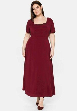 Maxi dress - weinrot