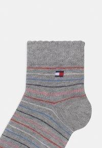 Tommy Hilfiger - 4 PACK UNISEX - Socks - light grey melange - 2