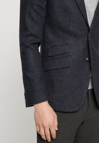 Burton Menswear London - RUST CHECK - Blazere - navy - 3