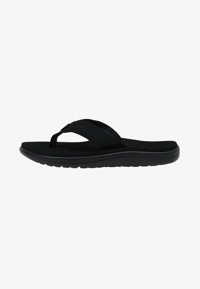 VOYA - Sandály s odděleným palcem - brick black