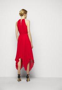 MICHAEL Michael Kors - PLEATED HALTER  - Cocktail dress / Party dress - crimson - 2
