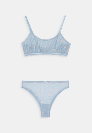 WE JUST GATHERED CROP SET - Brassière - bluebird